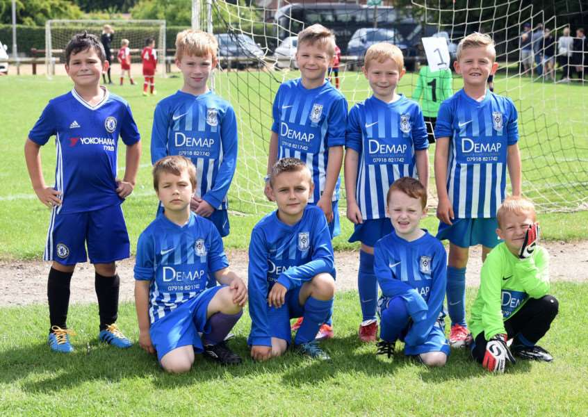 Wisbech St Mary Football Tournament'March Soccer under 7's