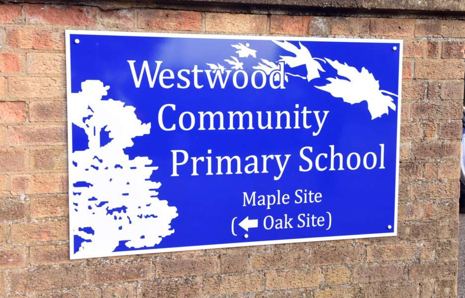Westwood Community Primary School that has replaced Maple Grove Infant School