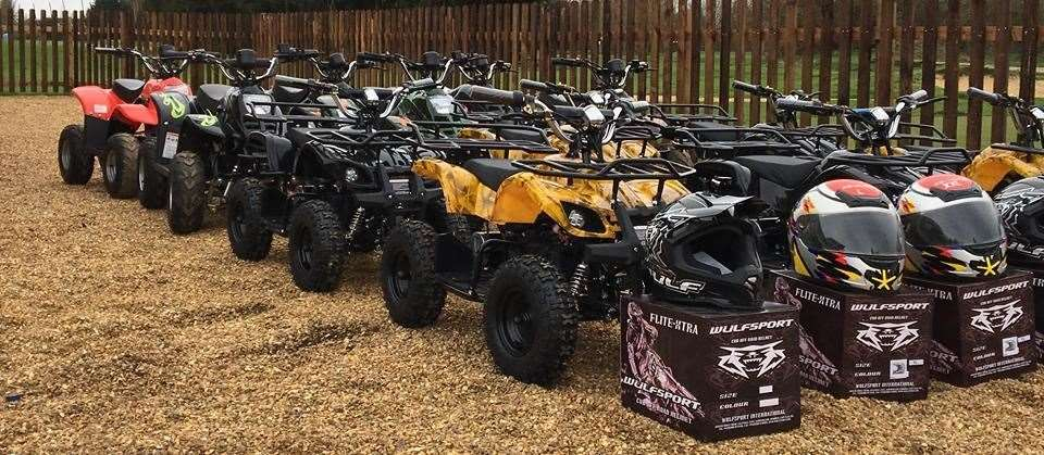 Ever wanted to have a go on a quad bike? Here's your chance!