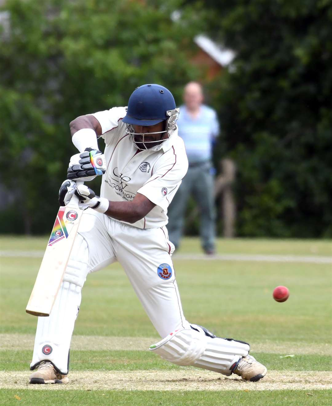 March 1st v Wisbech 1st Cricket Action..Saranga Rajaguru. (2579073)
