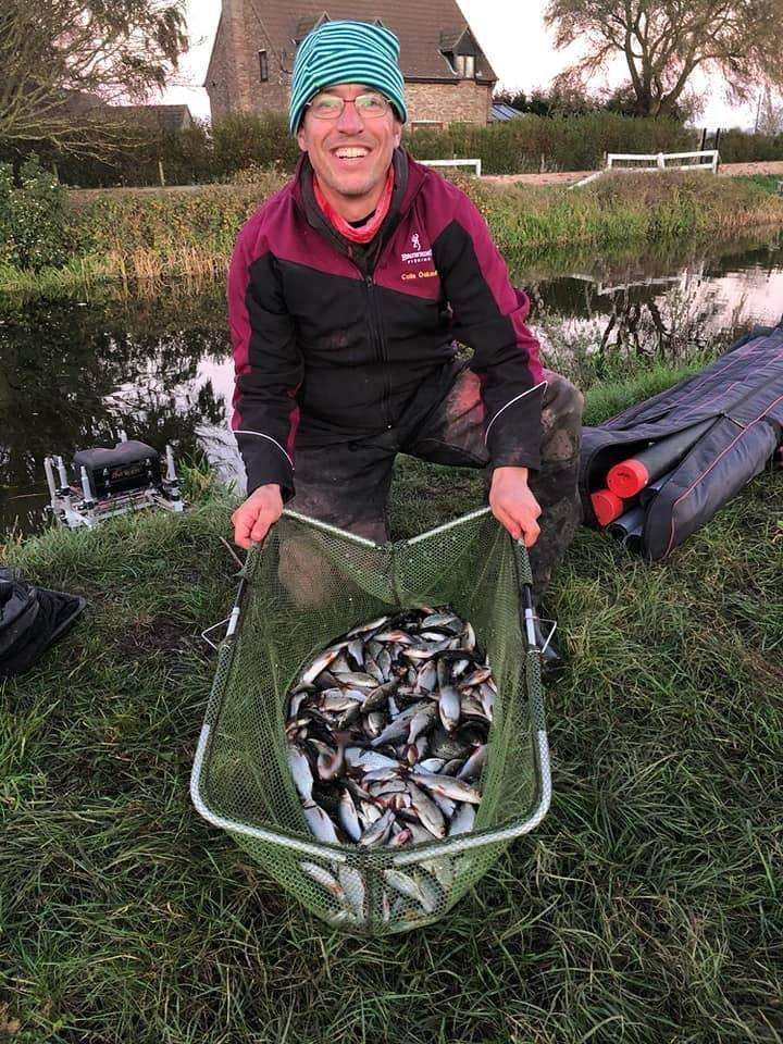 Match winner in the final round of the Angling Trust East Midland Winter League Colin Oakman (6028381)