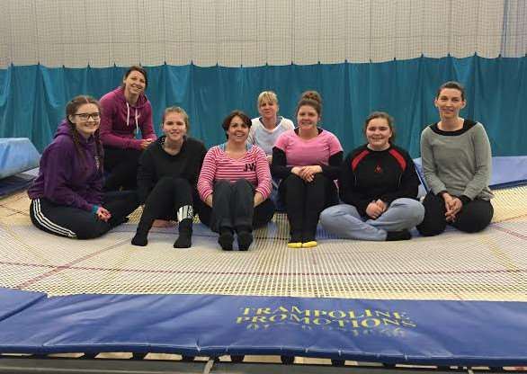Trampoline sessions for women are offered by Get Active