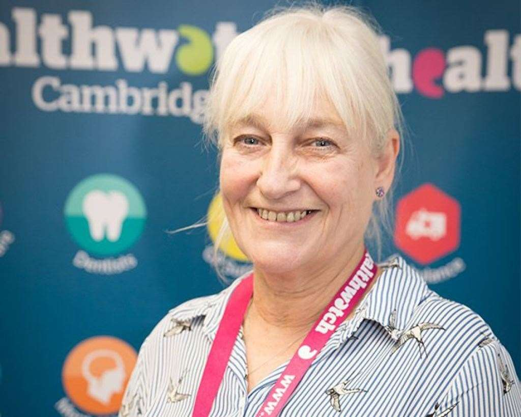 Sandie Smith CEO of Healthwatch. (38898797)
